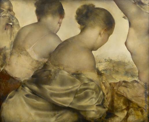 Глюкман Г. Е. Танцовщицы (Четыре женщины)
