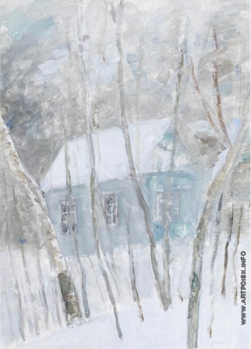 Фальк Р. Р. Зима на даче