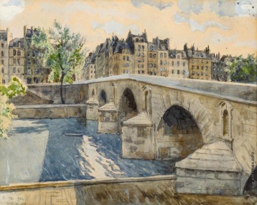 Бенуа А. Н. Понт Мари. Париж