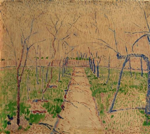 Бурлюк Д. Д. Тропинка среди деревьев