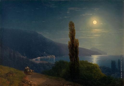 Айвазовский И. К. Лунная ночь. Крым