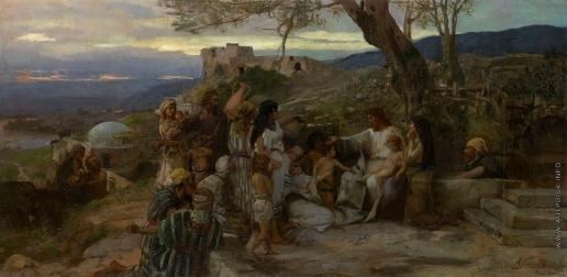 Семирадский Г. И. Христос благославляет детей