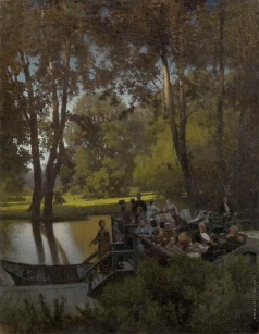 Суходольский П. А. Закусочная в парке