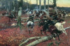 Рубо Ф. А. Кавказская (конная) разведка