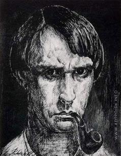 Соколов-Скаля П. П. Автопортрет