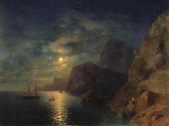 Айвазовский И. К. Море ночью