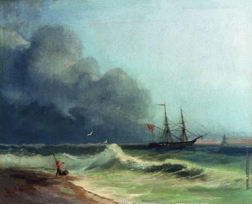 Айвазовский И. К. Море перед бурей