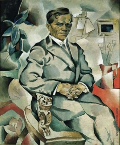 Баранов-Россинэ В. Д. Портрет художника И.Ф. Колесникова