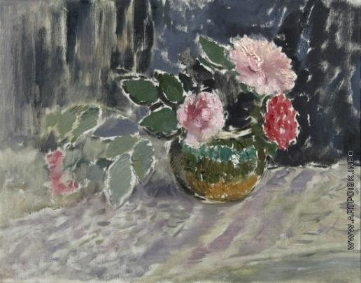 Софронова А. Ф. Цветы в вазе