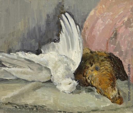 Софронова А. Ф. Натюрморт с птицами