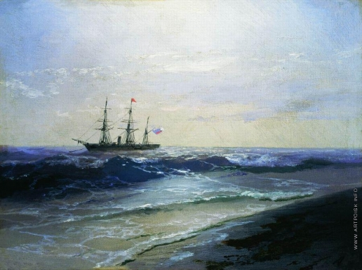 Айвазовский И. К. Море. Солнечный день