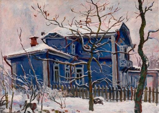 Кончаловский П. П. Первый снег. Голубая дача