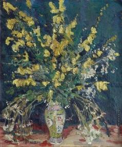 Альтман А. Букет желтых цветов