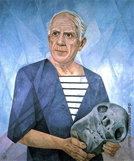 Маревна М. Б. Портрет Пабло Пикассо
