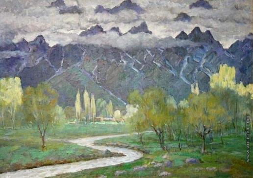 Карахан Н. Г. Пейзаж