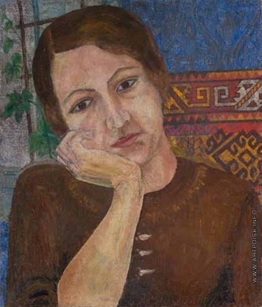 Луппиан В. К. Женский портрет