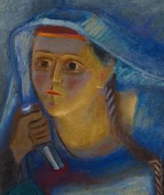 Пахомов А. Ф. Женский портрет