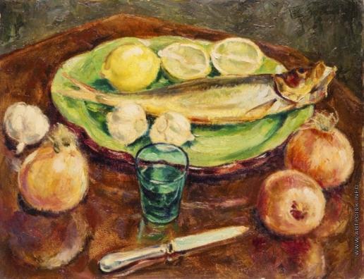 Пожедаев Г. А. Натюрмлрт с лимонами