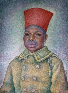 Маревна М. Б. Сенегальский солдат