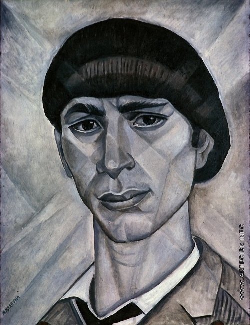 Маревна М. Б. Портрет Осипа Цадкина