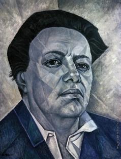 Маревна М. Б. Портрет Диего Риверы