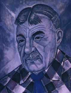 Маревна М. Б. Портрет Сергея Дягилева