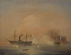 Айвазовский И. К. Морской бой