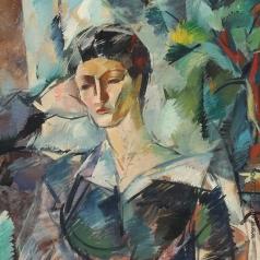 Осмеркин А. А. Портрет молодой женщины (Жена художника)