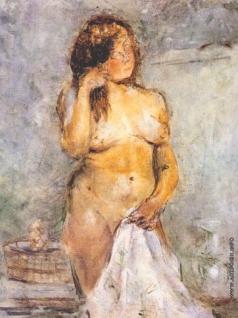 Татлин В. Е. В бане