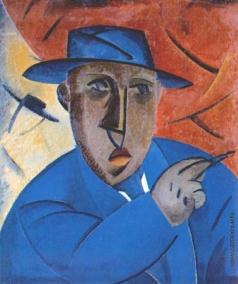 Татлин В. Е. Портрет артиста