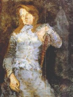 Татлин В. Е. Женский портрет