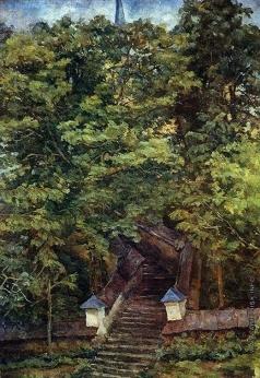 Осмеркин А. А. В Святогорском монастыре