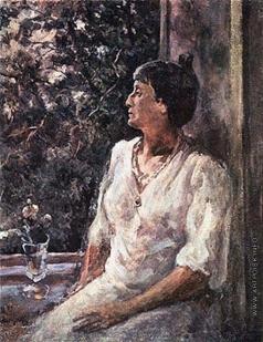 Осмеркин А. А. Портрет Анны Ахматовой
