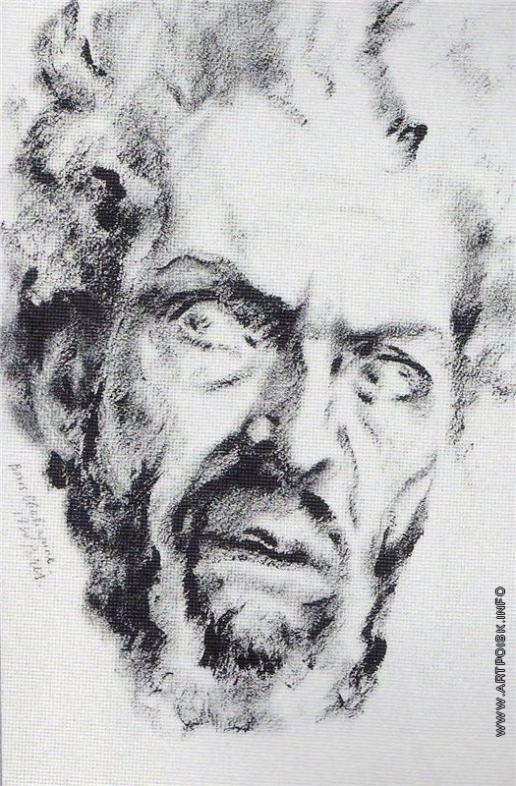 Шаляпин Б. Ф. Портрет отца художника в роли Дон-Кихота
