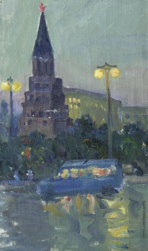 Григорьев Н. М. Москва вечером
