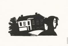 Фаворский В. А. Заставка к произведению Б. Пильняка «Старый дом»