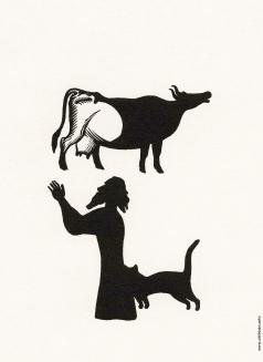 Фаворский В. А. Иллюстрация к произведению Б. Пильняка «Мать сыра-Земля»