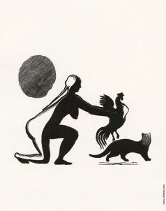 Фаворский В. А. Иллюстрация к произведению Б. Пильняка «Ходжент»