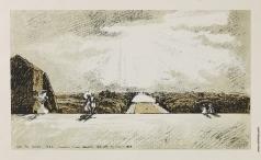 "Бенуа А. Н. Вид на Большой канал с эспланады дворца. Из альбома ""Версаль"""