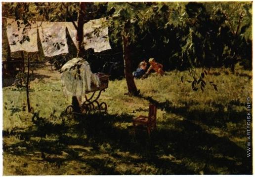 Яблонская Т. Н. Летом