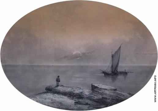 Айвазовский И. К. На морском берегу