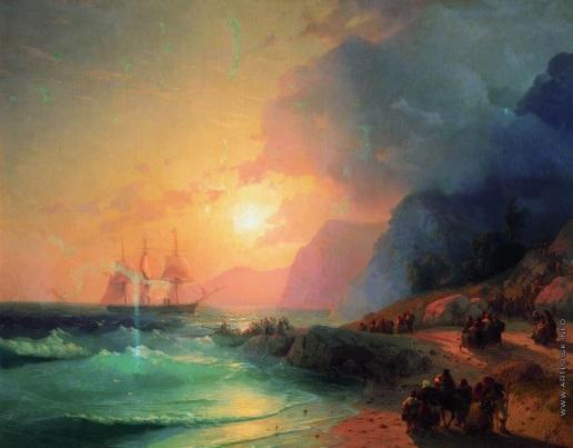 Айвазовский И. К. На острове Крит