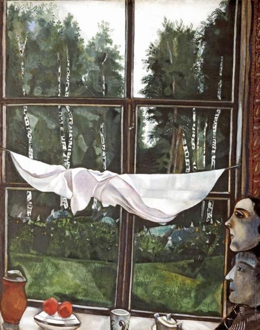Шагал М. З. Окно на даче