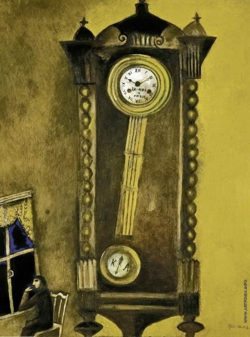 Шагал М. З. Часы