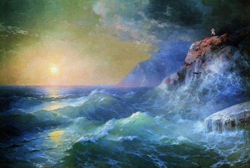 Айвазовский И. К. Наполеон на острове Святой Елены