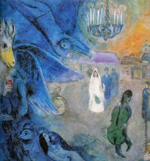 Шагал М. З. Венчальные свечи