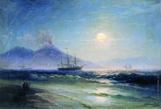 Айвазовский И. К. Неаполитанский залив ночью