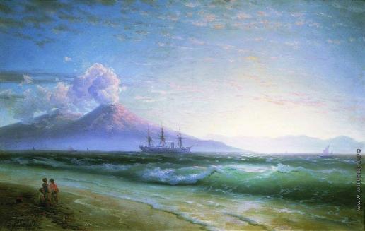 Айвазовский И. К. Неаполитанский залив ранним утром