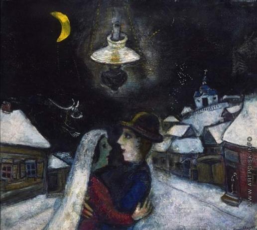 Шагал М. З. Ночью