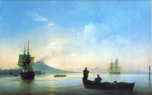 Айвазовский И. К. Неаполитанский залив утром